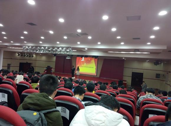 """""""TPY基金""""赞助南昌大学""""两学一做 党员在身边""""演讲比赛"""