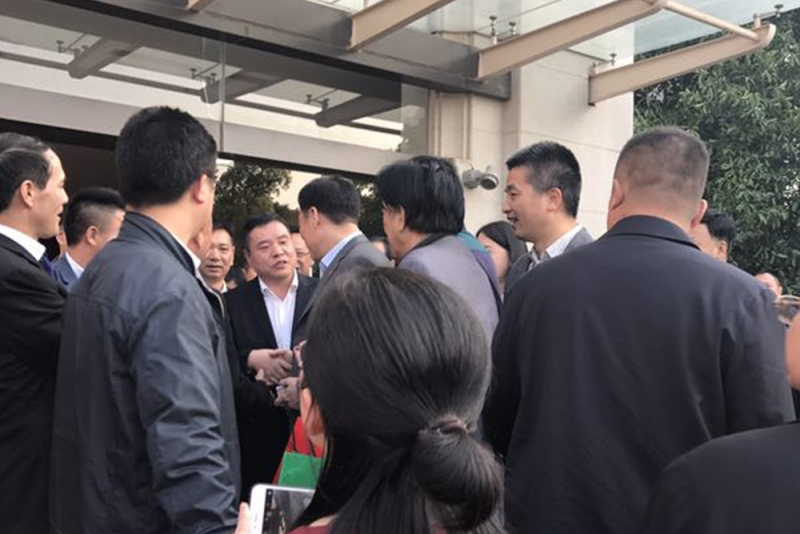 省长刘奇亲切会见 江西省浙江总商会会长、常务副会长
