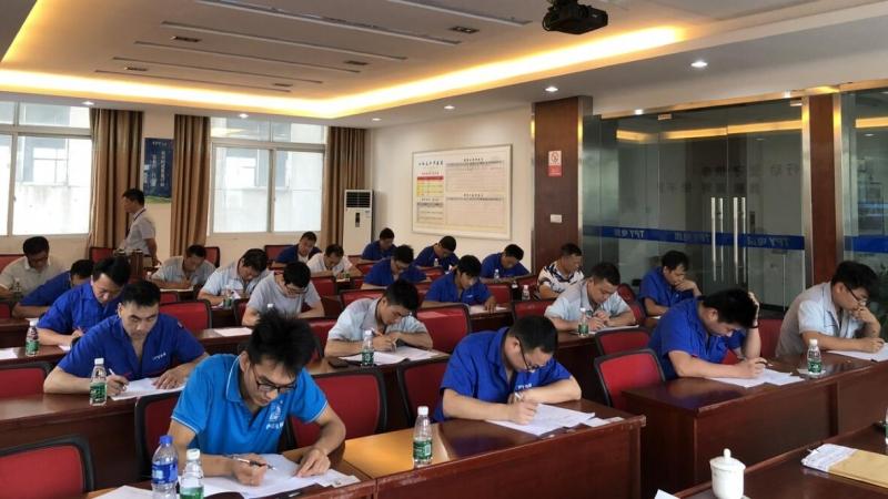 江西太平洋电缆集团首期职业技能鉴定工作圆满结束